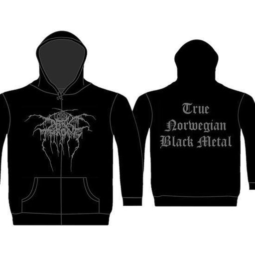 Hoodie -  Darkthrone -  True Norwegian Metal - Zip
