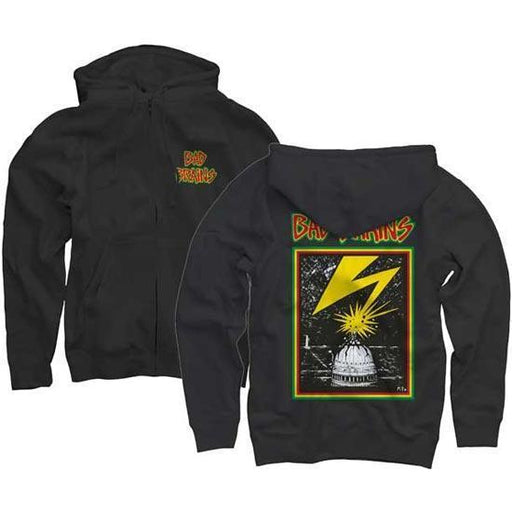 Hoodie - Bad Brains - Front Logo - Zip-Metalomania