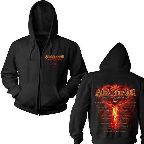 Hoodie - Blind Guardian - Beyond Red Mirror - Zip-Metalomania