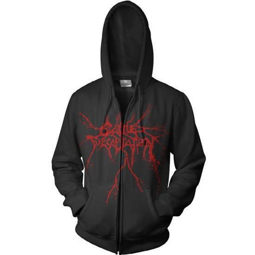 Hoodie - Cattle Decapitation - Logo (zip)