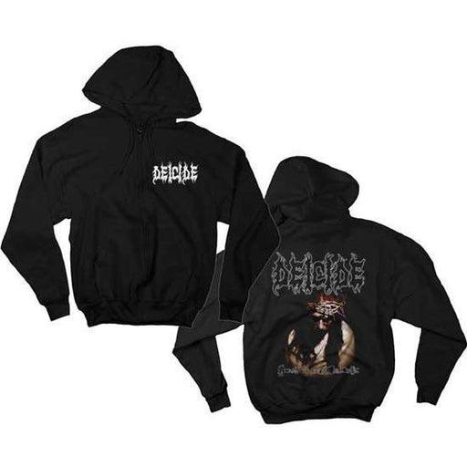 Hoodie - Deicide - Scars of the Crucifix ZIP