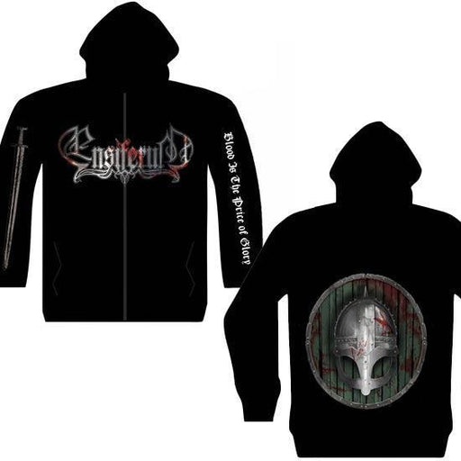 Hoodie - Ensiferum - Blood is the Price - Zip-Metalomania