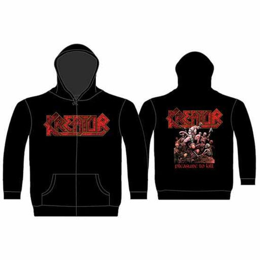 Hoodie - Kreator - Pleasure to Kill - Zip-Metalomania