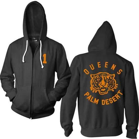 Hoodie - Queens of the Stone Age - Tiger