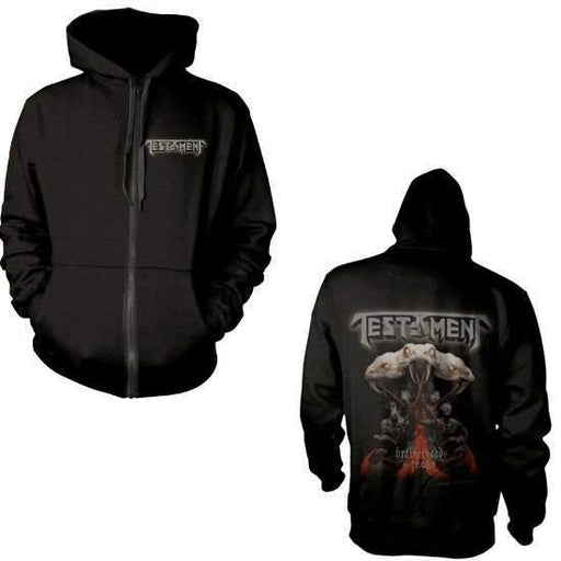 Hoodie - Testament - Brotherhood of the Snake - Zip