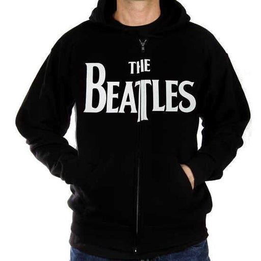 Hoodie - The Beatles - Drop T Logo - Zip