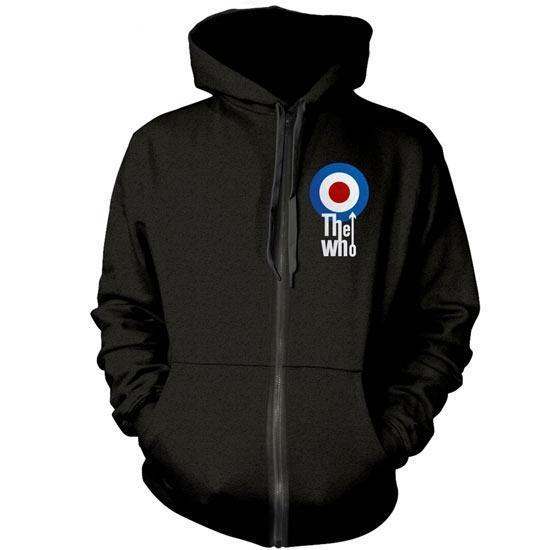 Hoodie - The Who - Target - Zip-Metalomania