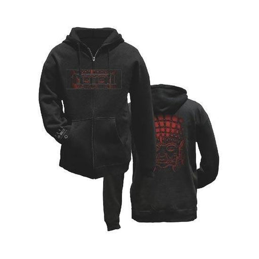 Hoodies - Tool - Red Face (zip)