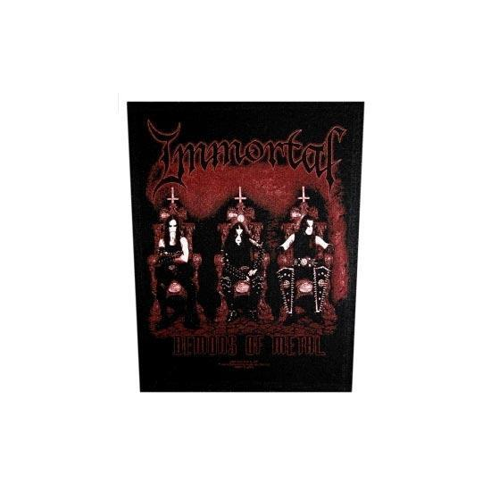 Immortal Demons Of Metal (Back Patches)-Metalomania
