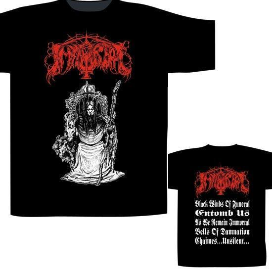 Immortal Throne (T-Shirt)-Metalomania