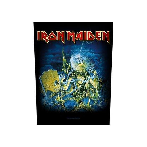 Back Patch - Iron Maiden - Live After Death-Metalomania