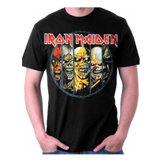 T-Shirt - Iron Maiden - Eddie Evolution-Metalomania