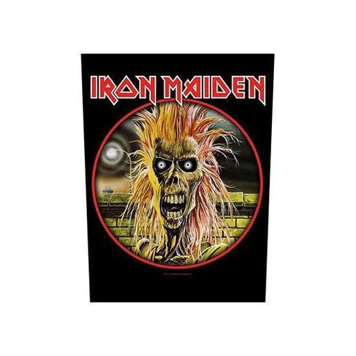 Iron Maiden Hairy Skull (Back Patches)
