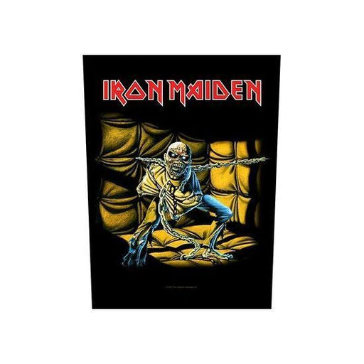 Back Patch - Iron Maiden Piece of Mind-Metalomania