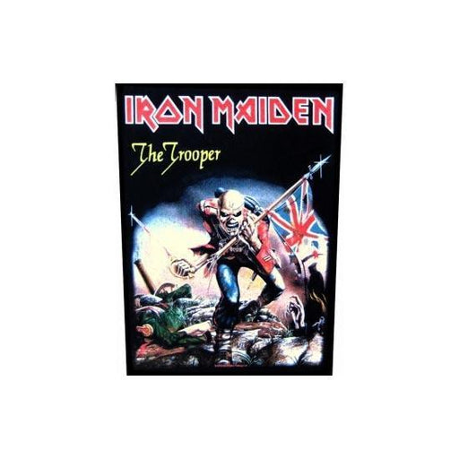 Back Patch - Iron Maiden - The Trooper