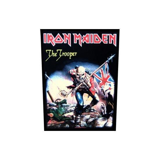 Back Patch - Iron Maiden - The Trooper-Metalomania