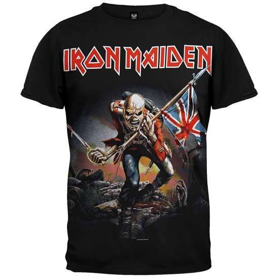 T-Shirt - Iron Maiden - Trooper V2-Metalomania