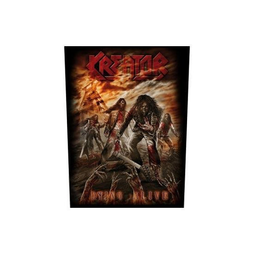 Kreator Dying Alive (Back Patches)-Metalomania