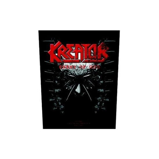Kreator Enemy of God (Back Patches)-Metalomania