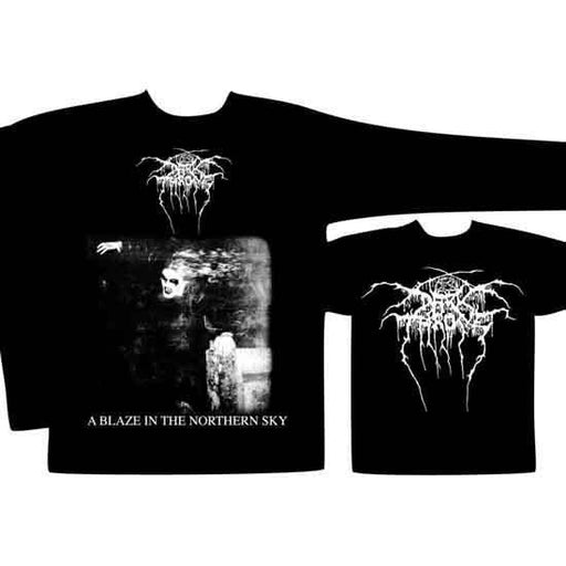 Long Sleeve Shirt - Darkthrone - A Blaze In The Northern Sky-Metalomania