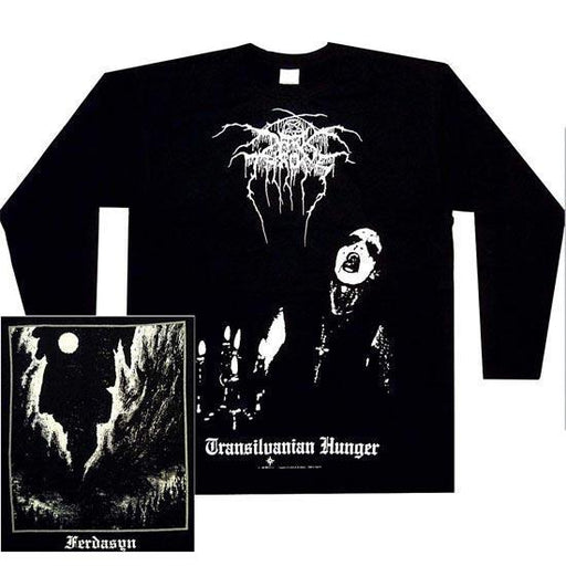Long Sleeve Shirt - Darkthrone - Transylvanian Hunger-Metalomania