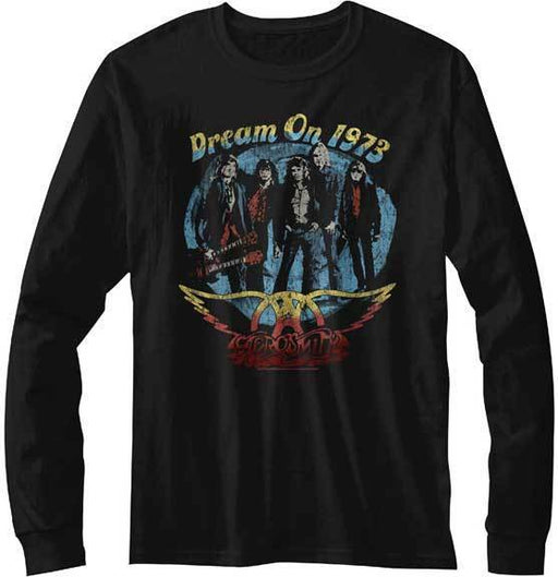 Long Sleeve Shirt - Aerosmith - Dream On-Metalomania