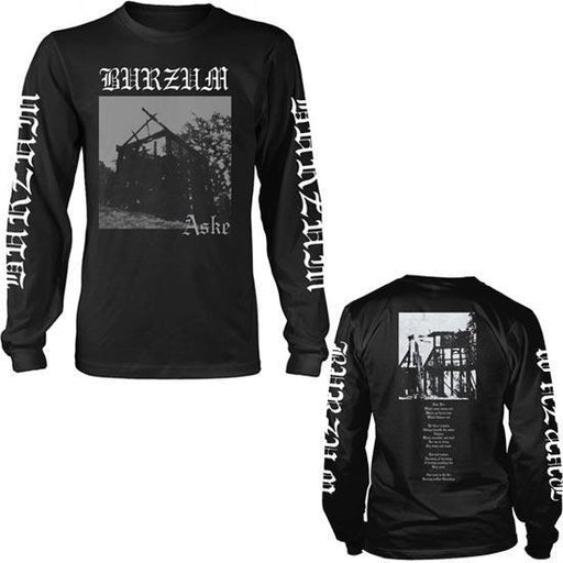 Long Sleeve Shirt - Burzum -  Aske