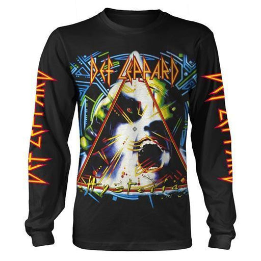 Long Sleeve Shirt - Def Leppard - Hysteria