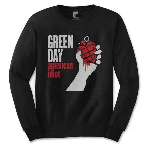 Long Sleeve Shirt - Green Day - American Idiot