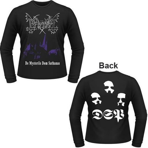 Long Sleeves - Mayhem - De Mysteriis Dom Sathanas-Metalomania