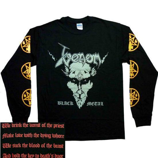 Long Sleeves - Venom - Black Metal -