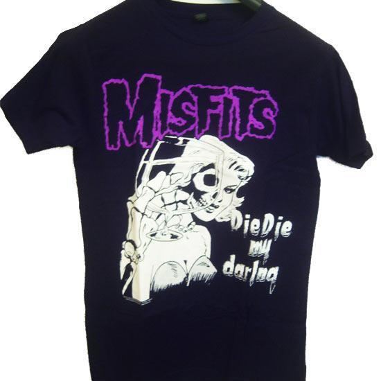 Misfits Die Die My Darling (T-Shirt)-Metalomania