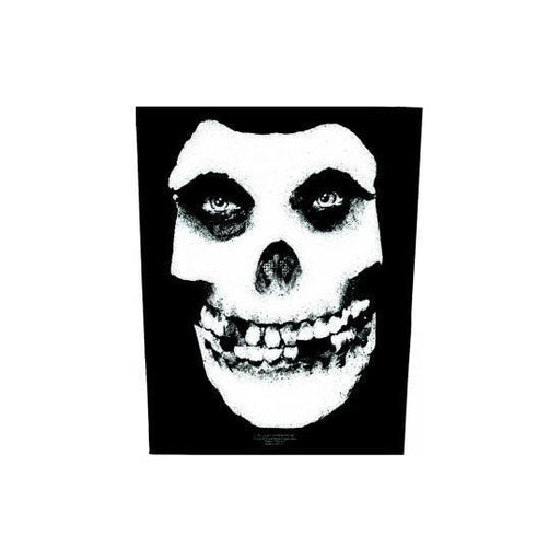 Misfits Skull (Back Patches)-Metalomania