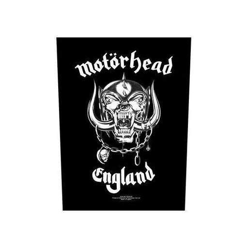 Motorhead England (Back Patches)-Metalomania