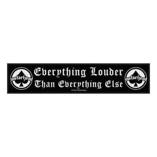 Motorhead Everything Louder (Patches)-Metalomania
