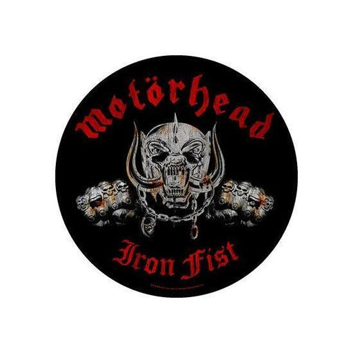Motorhead Iron Fist (Back Patches)-Metalomania