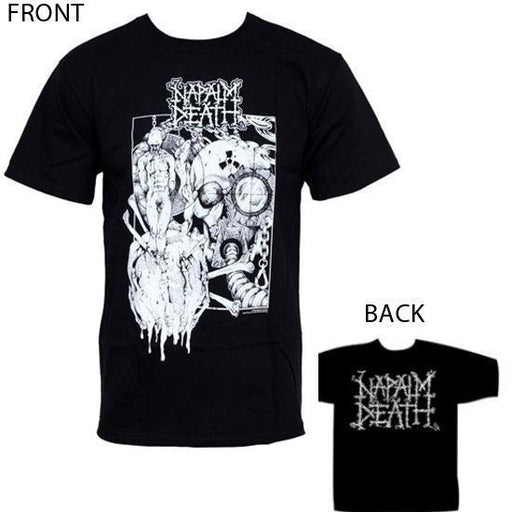 T-Shirt - Napalm Death - Harmony Corruption-Metalomania