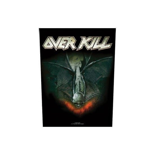 Overkill For Those Who Bleed (Back Patches)-Metalomania