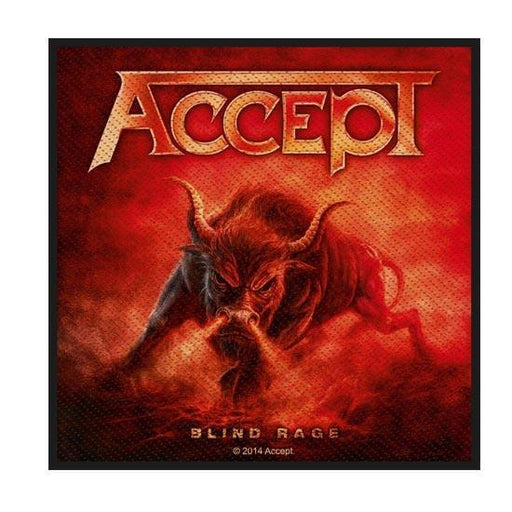 Patch - Accept - Blind Rage-Metalomania