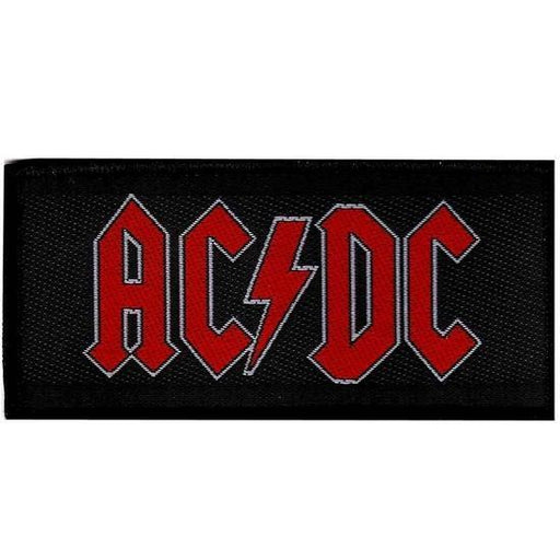 Patch - ACDC - Red Logo-Metalomania