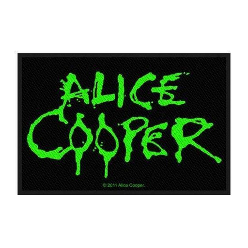 Patch - Alice Cooper- Green Logo-Metalomania