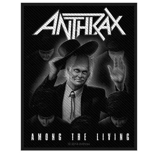 Patch - Anthrax - Among The Living-Metalomania