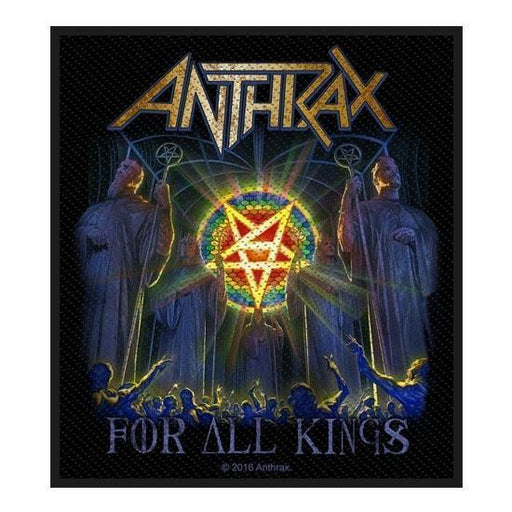 Patch - Anthrax - For All Kings-Metalomania