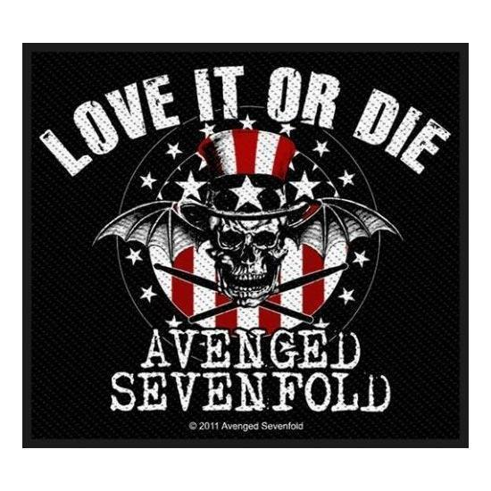Patch - Avenged Sevenfold - Love It or Die-Metalomania