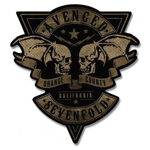 Patch - Avenged Sevenfold - Orange County Cut Out-Metalomania