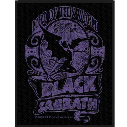 Patch - Black Sabbath - Lord of the World-Metalomania