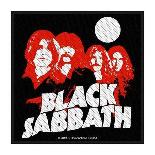 Patch - Black Sabbath - Red Portrait-Metalomania