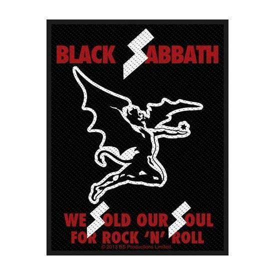 Patch - Black Sabbath - Sold our Soul-Metalomania