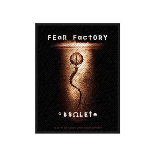 Patch - Fear Factory - Obsolete-Metalomania