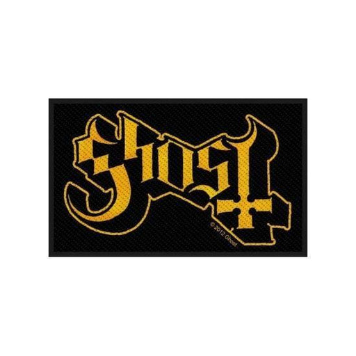 Patch - Ghost - Logo (yellow)-Metalomania